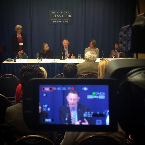 World Health panel at The National Press Club