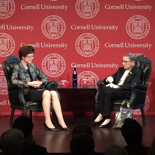Ruth Bader Ginsberg at the New York Historical Society