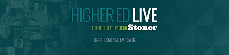 Introducing Higher Ed LivePodcasts