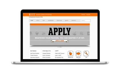 RIT Admissions Website